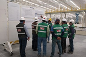 Mexico COMPAS assembly project installed smoothly